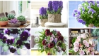 Kate-Mell-Flowers-Beautiful blue, violet, lilac and purple flower arrangements