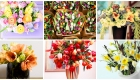 Stunning floral arrangements by Kate Mell Flowers