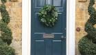 Christmas wreath door decoration