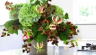 Stunning contemporary floral arrangements by Kate Mell Flowers