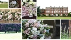 Newby Hall dusky pink wedding flowers