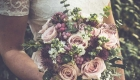 Natural woodland bridal flowers