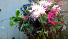 Burgundy marsala blush bridal bouquet