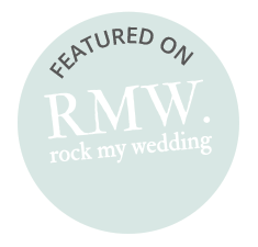We're featured on Rock My Wedding