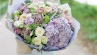 lilac tied bunch