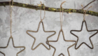 antique gold stars