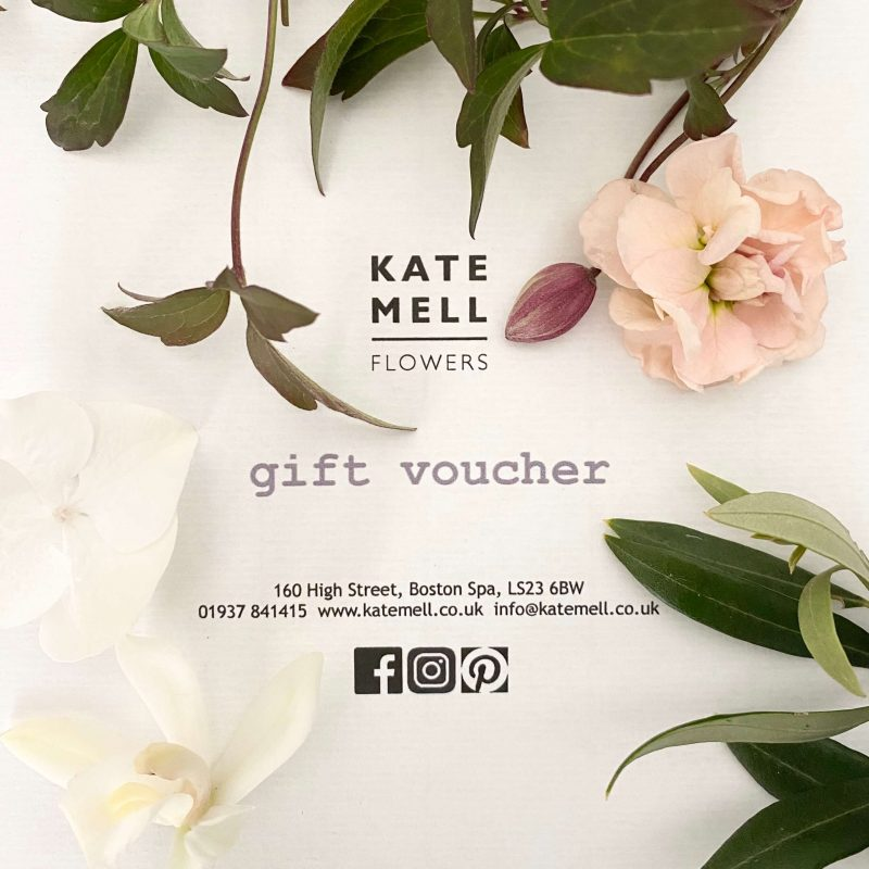 Kate Mell gift voucher