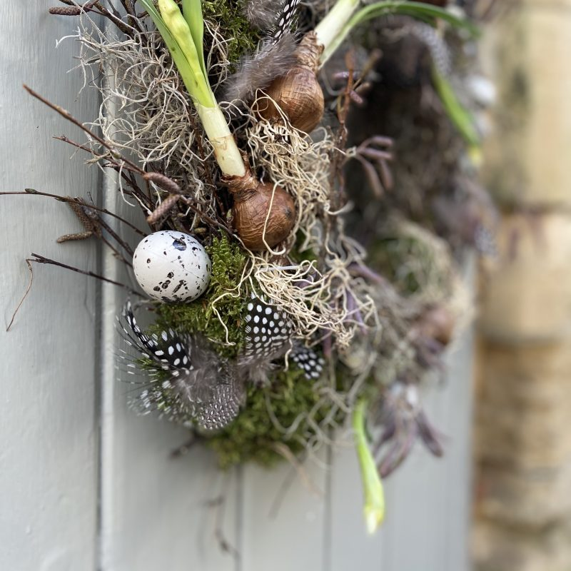 Spring wreath kit
