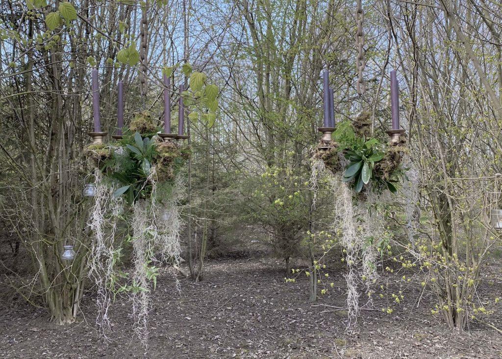 Moss & Foliage Candelabra