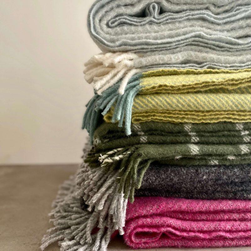 Tweedmill pure new wool throw